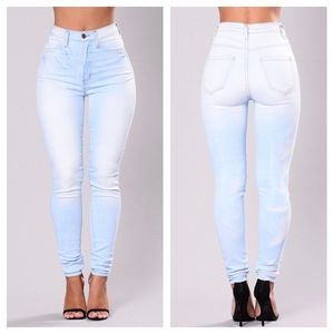 Fashion Nova   Denim Skinny Jeans